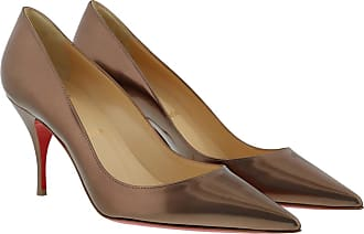 Christian Louboutin Pumps - Decollete High Clare Pumps 80 Courtisane - rose gold - Pumps for ladies