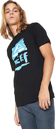 Reef Camiseta Reef Heritage Retrô Preta
