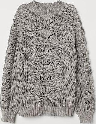 7f732d80ed18bf Rundhals Pullover für Damen in Grau: Jetzt bis zu −70% | Stylight