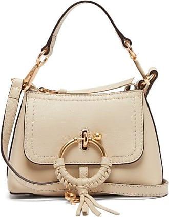 See By Chloé Joan Mini Leather Cross-body Bag - Womens - Beige