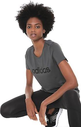 adidas Performance Camiseta adidas Performance D2m Logo Grafite