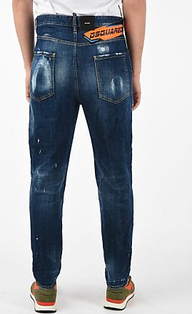 Dsquared2 Jeans 80S in Denim Stone Washed 16 cm taglia 52