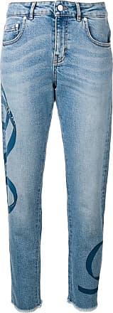 Escada Sport Calça jeans reta - Azul