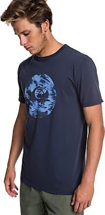 Quiksilver Quik Circled - T-Shirt - Men - M - Blue