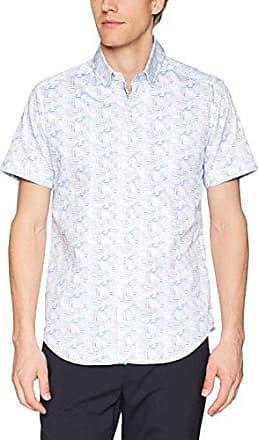 Robert Graham Mens Banner Short Sleeve Slim Fit Shirt