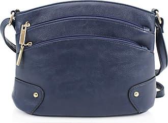 Craze London Womens Crossbody Shoulder Handbag - Small Size Messenger Bag - Cross-body Multiple Pockets Secure Travel Holiday Bag