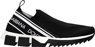 Dolce & Gabbana Dolce&Gabbana Mens Sneakers - Fabric (CS1595AZ568) EU Black Size: 7 UK