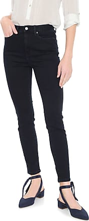 Banana Republic Calça Jeans Banana Republic Skinny High Rise Ankle Azul-marinho