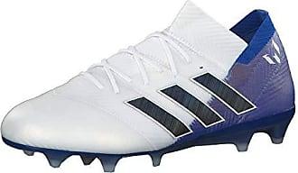 lowest price 4f68e ca602 adidas Nemeziz Messi 18.1 FG, Chaussures de Football Homme, Blanc  (Ftwbla Negbás