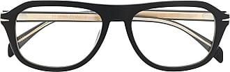 David Beckham Óculos de sol com lentes duplas - Preto