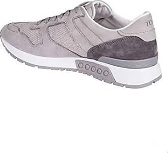 Tod's Sneakers In Colour block optik Herren Grey Schuhe Low