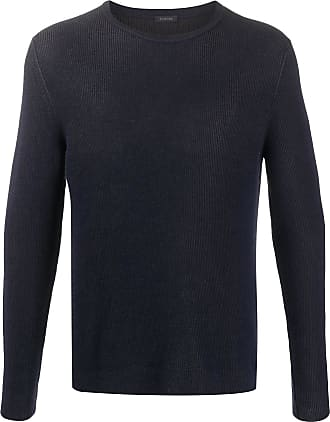 Zanone ribbed regular-fit jumper - Blue
