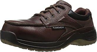 Florsheim Work Mens Rambler Creek FS2700 Work Shoe, Brown, 11.5 D US