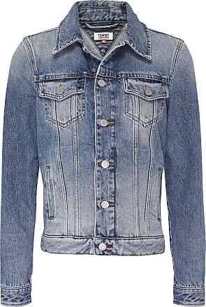 Tommy Jeans Womens Regular Trucker Jacket IRNM, Iron Mid, 4 (Size:S)