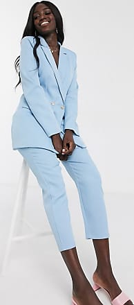 In The Style x Laura Jade - Tailored Fit Hose in Blau, Kombiteil