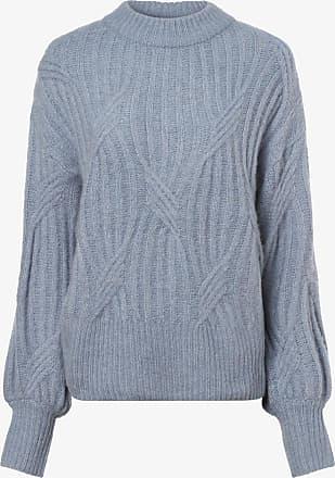 Y.A.S Damen Pullover mit Alpaka-Anteil - Yaspixie blau
