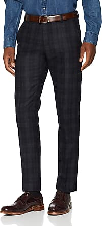 Selected Homme Mens Slhslim-buffaloiver Chk TRS B Noos Suit Trousers, Multicolour (Navy Blazer Navy Blazer), W30 (Size: 48)