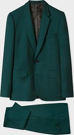 Paul Smith Maßgeschneiderte dunkelgrüne Wolle für Herren Ein Anzug zum Reisen - 52 | wool | green - Green/Green