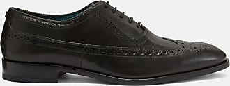 Ted Baker Contemporary Leather Longwing Brogues in Black ASONCE, Mens Accessories