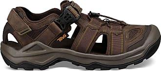 Teva Mens Sandalia Omnium 2 Leather Sports Sandals, Multicolour (Turkish Coffee 000), 10.5 UK
