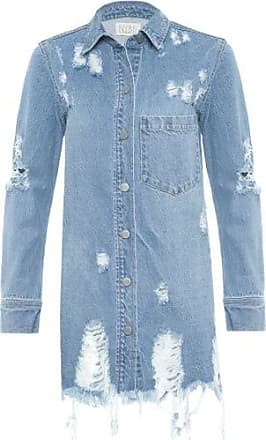 N.Y.B.D. Jaqueta Jeans N.Y.B.D - Azul