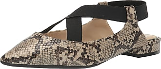 Jessica Simpson Womens Lurina Ballet Flat, Neutral Snake, 5.5 UK