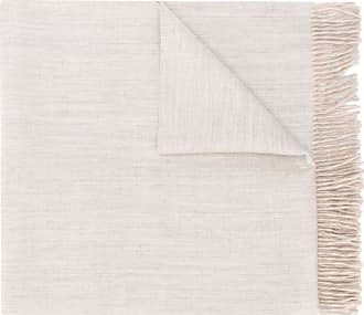 Max Mara fringe trim scarf - Cinza
