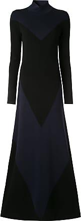 Layeur Vestido colour block de jérsei - Preto