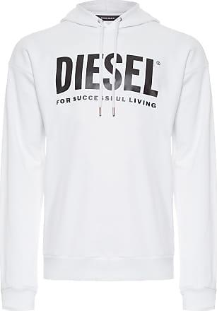Diesel BLUSA MASCULINA MOLETOM S-DIVISION LOGO SWEAT - BRANCO
