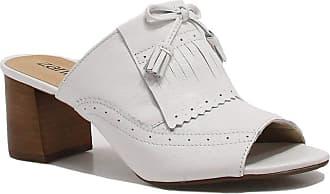 Zariff Mule Zariff Shoes Laço Couro