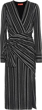 Altuzarra Sparks striped silk-blend dress