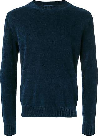 Ballantyne Suéter com acabamento canelado - Azul