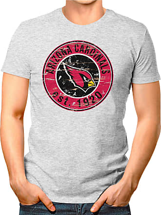 OM3 Arizona-Badge - T-Shirt | Mens | American Football Shirt | L, Heather Grey