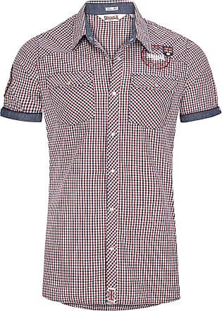 3166c00c108 Lonsdale Reigate - Skjorter (kortermet) - Kortermet skjorte - blå-rød-hvit