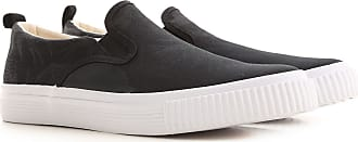 Alexander McQueen Slip on Sneakers for Men On Sale, Black, Fabric, 2019, 10.5 6.5 7 8 9.5