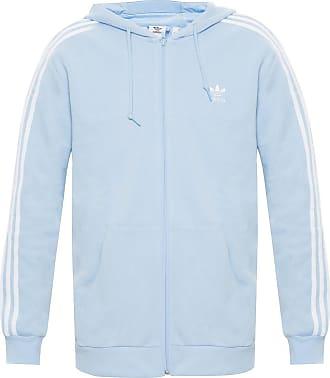 adidas hoodie light blue