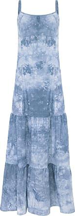 Market 33 Vestido Longo Três Marias - Azul
