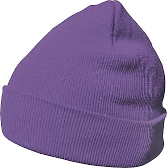 DonDon winter hat beanie warm classical design modern and soft lilac