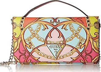 Guess Kamryn VP Wallet On A String, Coral Multi