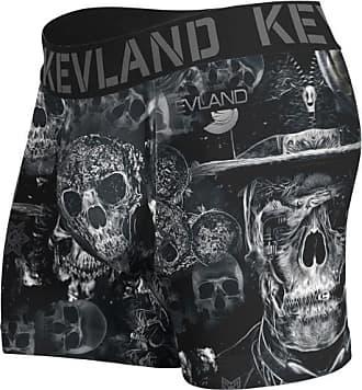Kevland Underwear CUECA BOXER KEVLAND DARK PRETO (1, GG)