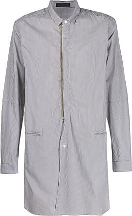 JohnUndercover Camisa longa com listras - Branco