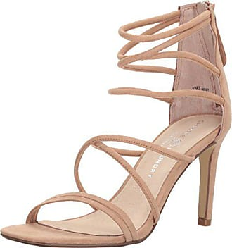 Chinese Laundry Womens Sheena Dress Sandal, Nude Suede, 6 M US