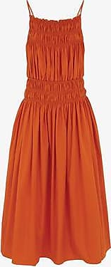Three Graces London Dia Dress in Orange