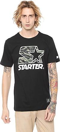 Starter Camiseta Starter Estampada Preta
