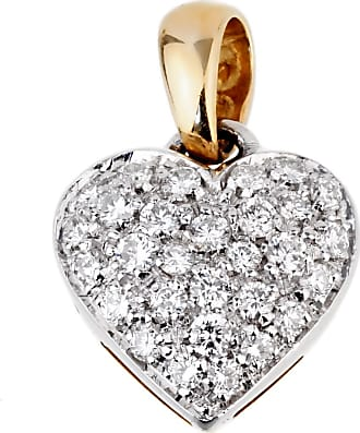 Chimento Gold Diamond Heart Pendant Necklace