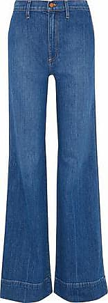 Alice & Olivia Alice + Olivia Woman Gorgeous High-rise Flared Jeans Mid Denim Size 24