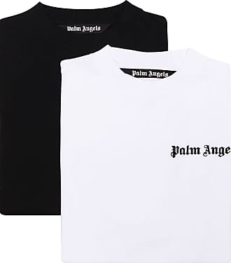 Palm Angels 2er-Set T-Shirts mit Logo - Weiß