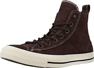 Converse Women Women Sports Shoes CTAS HI Brown 2.5 UK