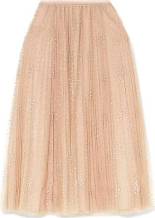 6610f8864d1 Red Valentino Fil Coupé Tulle Midi Skirt - Pink