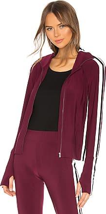 Norma Kamali Side Stripe Turtle Jacket in Purple